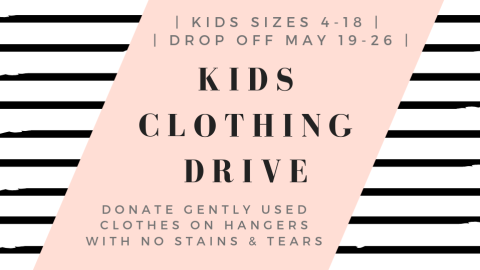 Kids Clothing Drive